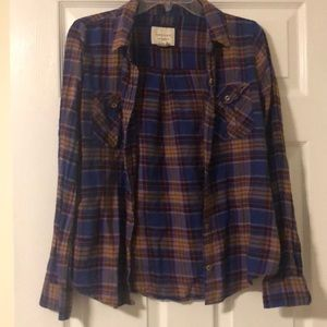 Forever 21 Purple Flannel